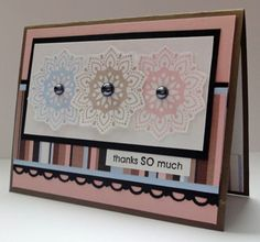Going to try with my ctmh doily stamp