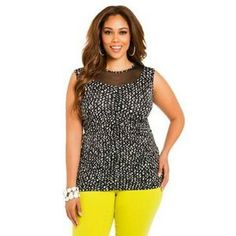 I just discovered this while shopping on Poshmark: Ashley Stewart. Check it out!  Size: M