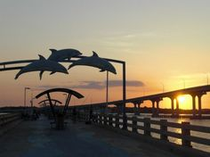 Vilano Beach Pier sunset