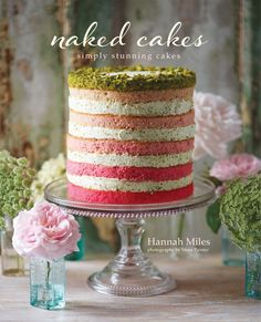 This book is an ode to the fairly recent trend of cakes that are more natural in presentation, and displayed without their outer coating of frosting. These cakes are marvelously striking, unique in fl