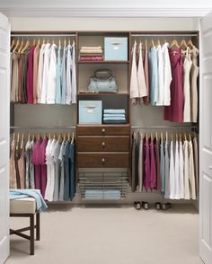 Dream big! Try our closet configurator and design a custom storage solution for your space.