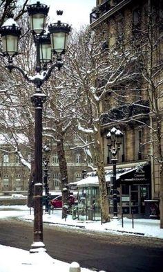 Winter,Paris