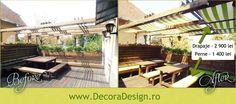 Bucharest, Terrace, Restaurant, Patio, Interior, Outdoor Decor, Projects, Design, Home Decor