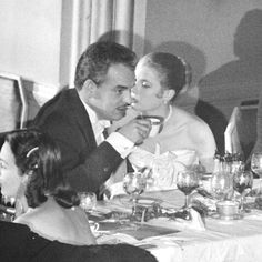 A candid (and saucy) Prince Rainier & Grace Kelly