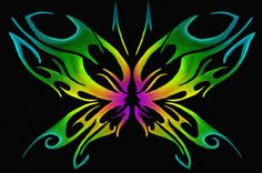 Tribal Butterfly Design by TechBehr.deviantart.com on @deviantART