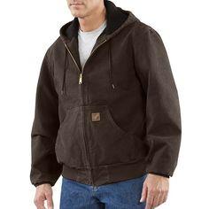 Carhartt Sandstone Active Jacket - Washed Duck (For Men) at Sierra Trading Post. $67.95