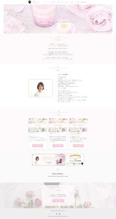 RainbowRose様のウェブサイトを制作しました Web Design, It Works, Design Web, Website Designs, Nailed It, Site Design