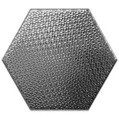 Kolekcja Hexagono - płytki ścienne Dec Hexagono Plata 17x15