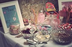 wedding sweetie table