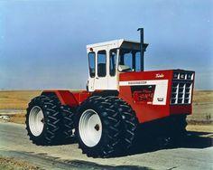 International 4366 Turbo.225 engine hp.Tested in 1973 @ 163 drawbar hp,turbo 466 cid diesel.21,690 lbs.23,000 lbs