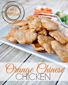 Orange Chinese Chicken Recipe - Weight Watchers Simple Start Plan 6 PointsPlus #Recipe #SimpleStart #ad