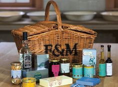 Having a hamper willl catupult your picnic into a different league, especially if it's a Fortnum & Mason hamper. It is quite expensive for something that gets eaten in an afternoon but you can keep the basket for a lifetime!