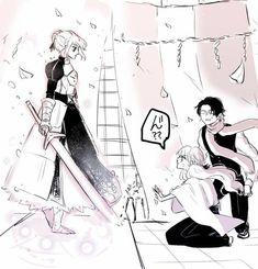 Anime Artwork, Touken Ranbu, Katana, Crossover, Manga, Sparkles, Tarot, Comic, Fandoms