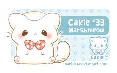 Cakie #33 - Marshmeow by Sarilain