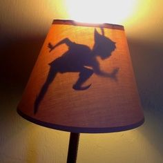 Peter Pan's Shadow Lamp