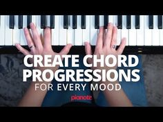 Write A Chord Progression For Every Mood Music Theory Lessons, Piano Lessons, Lds Music, Good Music, Piano Tutorial, Piano Man, Piano Music, Sheet Music, Music Education