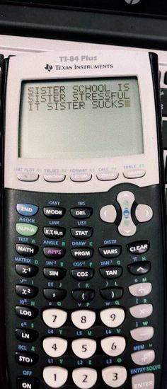 i have this calculator & i use it for algebra and geometry and other math things lol Memes Supongamos, Funny Memes, Hilarious, My Mood, Along The Way, Laugh Out Loud, I Laughed, Texts, Laughter