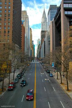42nd Street. View from Tudor City Place