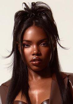 Beautiful Black Girl, Pretty Black Girls, Dead Gorgeous, Black Girl Aesthetic, Aesthetic Hair, Baddie Hairstyles, Black Girls Hairstyles, 2000s Hairstyles, Trendy Hairstyles