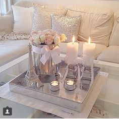 Livingroom Candles