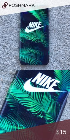 Nike Palm Tree Leaves Case for any iPhone!! Brand New in the packaging ! High Quality dope printed iPhone case !3D printed design all around the case.   Price is firm unless looking for bundle deals. Then message me!   Same or next day shipping with USPS Tracking provided!   ***Message me or comment before purchase of the phone size you have, or else I will send the size in the title***  ALL CASES AVAILABLE FOR IPHONE 6/6S , 6 Plus / 6S Plus, iPhone 7, and iPhone 7 Plus!   Much more dope…