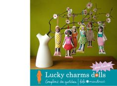 lucky charms dolls — Home  SUCH A CUTE WAY TO DISPLAY SMALL ART DOLLS