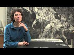 Une journée dans l'atelier de Sylvie Abélanet - YouTube
