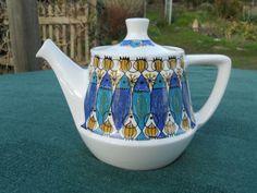 Figgjo Flint 1960's Turi Gramstadt Oliver Clupea Design Tea Pot