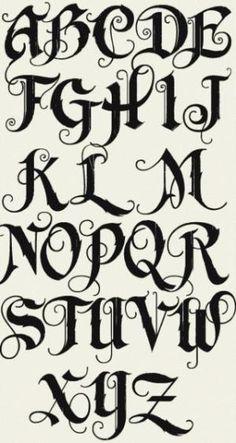 Different Graffiti Alphabet Fonts - LHF Unlovableby   Graffiti Alphabet Letters by consuelo