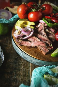 Flat Iron Steak Tacos - By GirlCarnivore for Char-broil More
