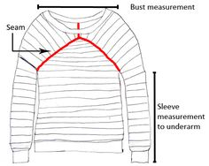 How to Design Your Own Knit Sweater from a Picture