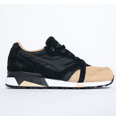 Diadora - N9000 Double - Black/Sand