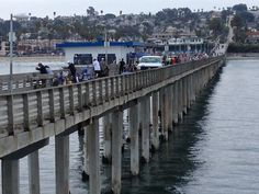 Traffic Jam OB Pier San Diego Ocean Beach Pt. Loma Sunset Cliffs California taken by Scott Chasen
