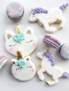 Inquire today for cookie favors! We ship cookies across the United States! Royal Icing Cookies, Sugar Cookies, Unicorn Cookies, Cookie Favors, Magical Unicorn, Decorated Cookies, Cookie Decorating, Yummy Treats, Cookie Cutters