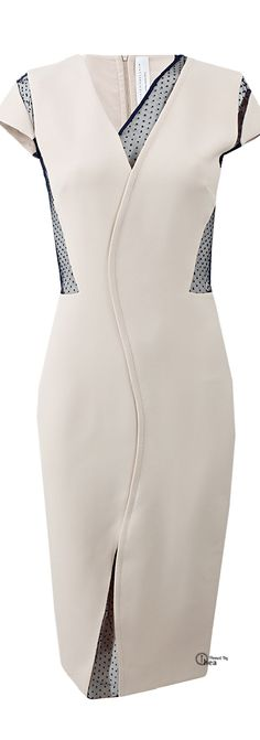 Victoria Beckham ● Fitted Dress ~ Tнεα