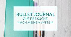 Das Bullet Journal als Buch für alles. Termine, to-do-Listen und Notizen. Ich zeige dir mein future log, mein Calendex und meinen Haushalts-Tracker.