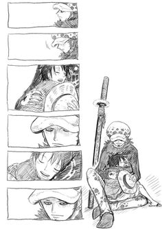 Trafalgar Law x Monkey D. Luffy