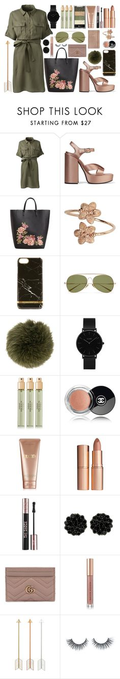 """""""pentatonix - rose gold"""" by amylewin ❤ liked on Polyvore featuring Lands' End, Jil Sander, MANGO, Richmond & Finch, Acne Studios, Furla, CLUSE, Verso, Chanel and La Mer"""