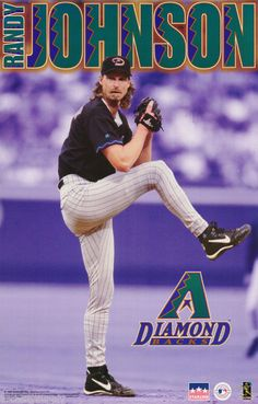 Randy Johnson Arizona Diamond Backs