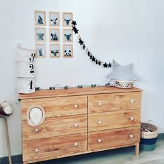 Commode Tarva Ikea baby room diy