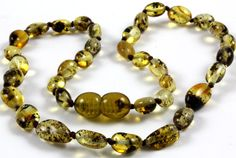 Effective Green Baltic Amber Baby Teething by BalticAmberGiftShop, $12.99