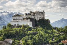 Austrian prince-bishops lived in this mountaintop fortress beginning in 1077, expanding the formidable walls for the next 500 years. Tourists can trek up the steep footpath (or take a much more convenient funicular) to reach the peak.