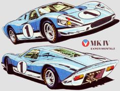 Ford Gt, Le Mans, Car Illustration, Illustrations, Alpine Renault, Car Drawings, Comic Styles, Automotive Art, Inspirational Videos