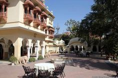 Perfect for a leisurely afternoon in #Royal #ambiance  Das Alsisar Haveli Hotel in Jaipur http://faszination-suedostasien.de