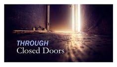 Through Closed Door