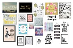 """""""quotes~~~~~"""" by emmaks9 ❤ liked on Polyvore featuring Trademark Fine Art, 3R Studios, Americanflat, Silver Lining, PBteen, Pier 1 Imports, Courtside Market, PTM Images and Stupell"""