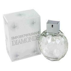 Emporio Armani Diamonds Perfume by Giorgio Armani, 1 oz Eau De Parfum Spray  Diamonds are a girls best friend!