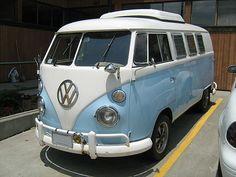 Blue & White VW T1