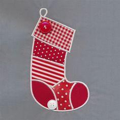 Merry Stocking Applique