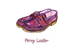 Have you ever wondered why they are called penny loafers. Wonder no more as we dive into the history of the penny loafer! Ivy Look, Formal Business Attire, Unusual Names, Invisible Socks, Preppy Outfits, Penny Loafers, Shoe Sale, Timeless Fashion, Casual Looks
